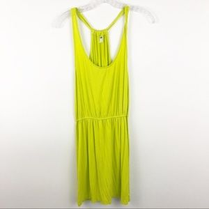 Old Navy lime green dress